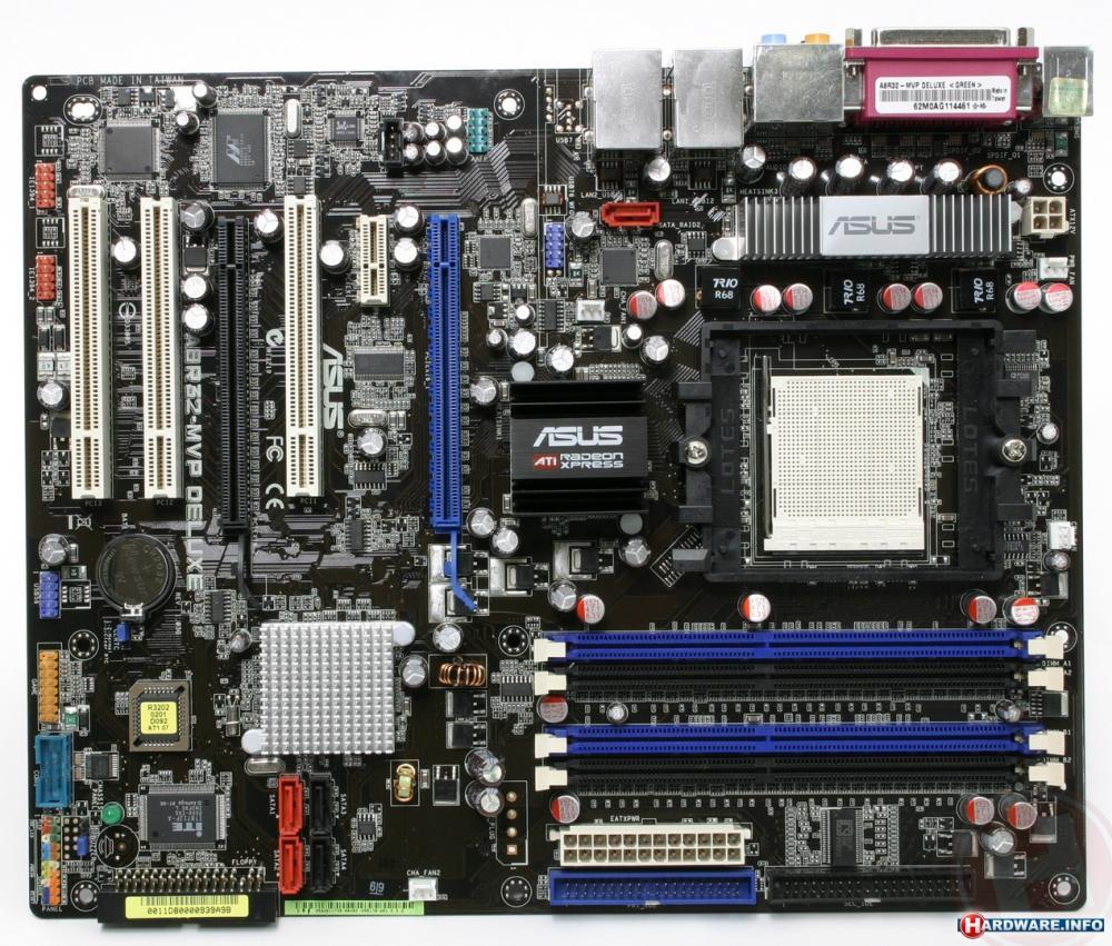 Asus A8R32-MVP DELUXE 0404 Windows 7 64-BIT
